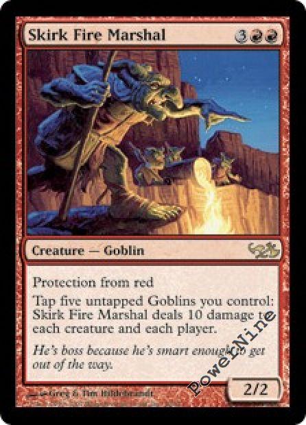 Fire marshal evg elves vs goblins duel deck dd red rare mtg mag ebay