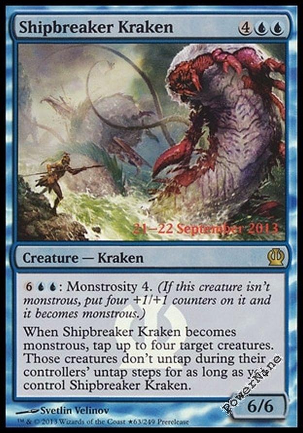Shipbreaker Kraken Theros  Gatherer  Magic The Gathering