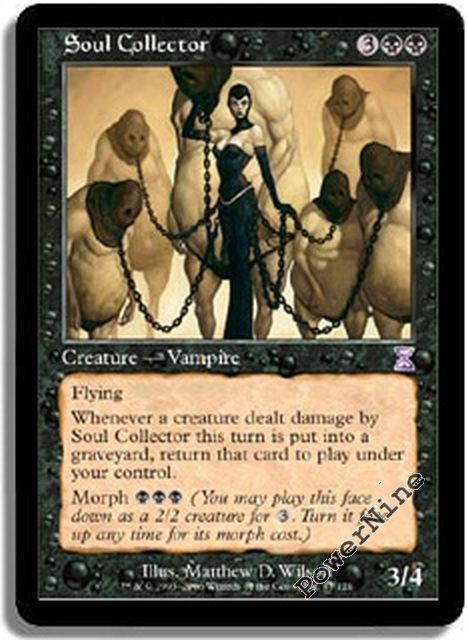 1 Soul Collector = Black Timeshifted Time Spiral Mtg Magic Rare 1x x1