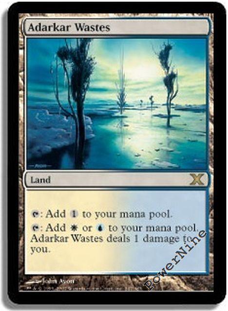 Land Ninth 9th Edition Mtg Magic Rare 1x x1 1 Llanowar Wastes