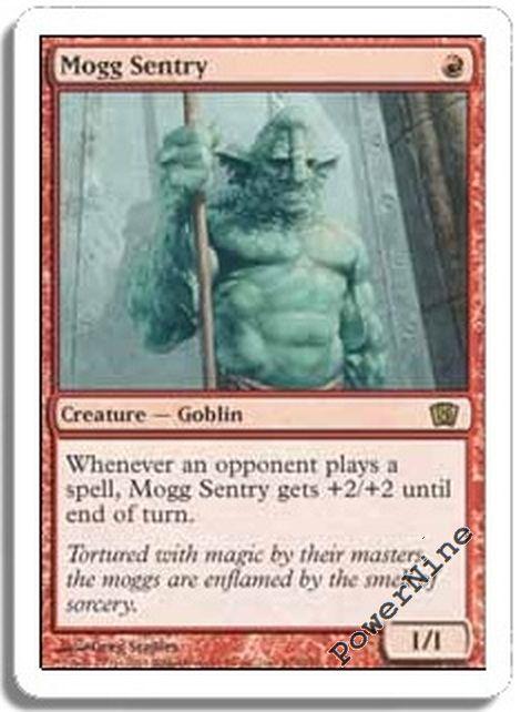 4x Mogg Sentry MTG 8th Edition NM Magic Regular