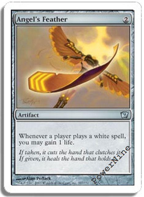 4 Demon/'s Horn ~ Artifact Ninth 9th Edition Mtg Magic Uncommon 4x x4