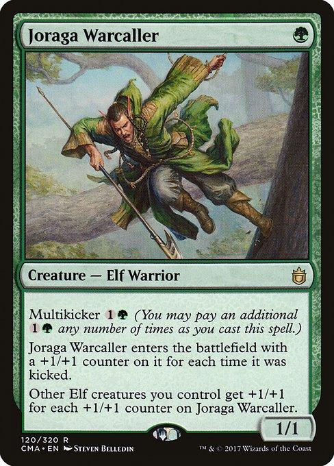 Green Launch Parties Mtg Magic Rare 1x x1 1 PROMO PLAYED FOIL Joraga Warcaller