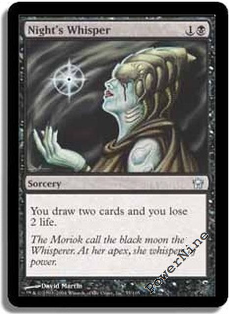 Fifth Dawn  MTG  Foil  Endless Whispers  Magic