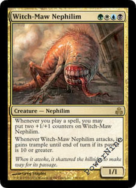 Gold Guildpact Mtg Magic Rare 4x x4 4 PLAYED Glint-Eye Nephilim