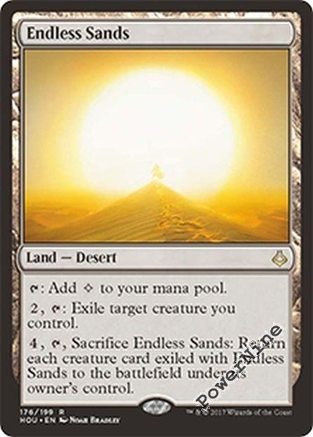 4x Endless Sands MTG Hour of Devastation NM Magic Regular