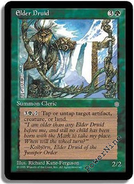 4 Elder Druid = Green Ice Age Mtg Magic Rare 4x x4
