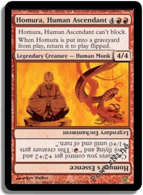 SoK *Rare Legend* MTG 4x HOMURA HUMAN ASCENDANT