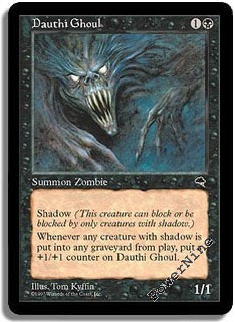 4 Dauthi Mercenary ~ Black Tempest Mtg Magic Uncommon 4x x4