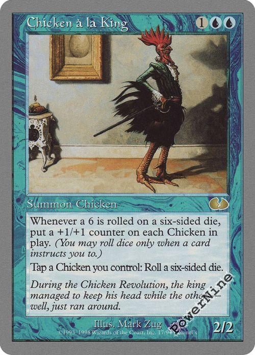 Mesa Chicken Near Mint Normal English Magic the Gathering Unglued Magic Card MTG