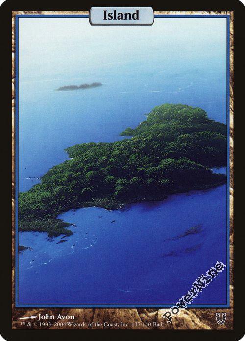 MTG Magic the Gathering Island Unhinged x1