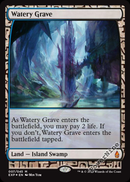Watery Grave Near Mint Foil English Magic the Gathering MTG Gatecrash Magic Card