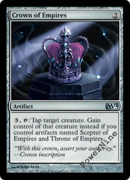 Scepter of Empires FOIL Magic 2012 M12 NM-M Artifact Uncommon CARD ABUGames
